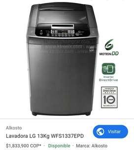 LAVADORA LG 13G