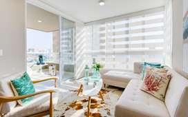Apartamento nuevo piso 15, 2 hab, 2 baños, depósito, garage.