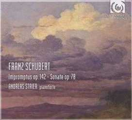 CD- Franz Schubert: Impromptus op.142 - Sonatae op.78 - Andreas Staier.