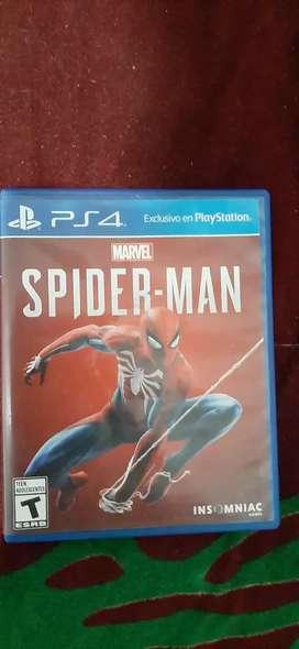 Spiderman ps4 juegos