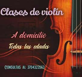 Clases particulares de violín en Formosa capital