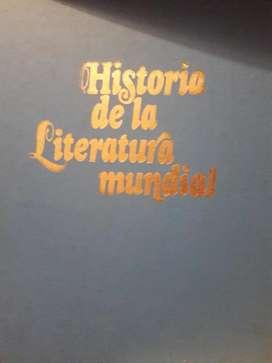 Historia de la Literatura Mundial