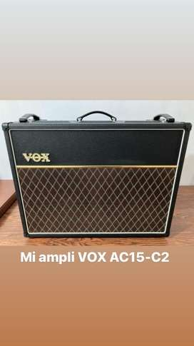 Vox AC15 C2 (+ 2 tubos JJ matched de regalo)