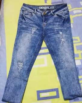 Pantalon Jean Denimlab Mujer