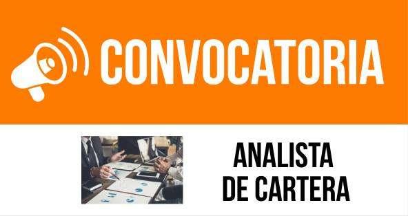 ANALISTA DE CARTERA