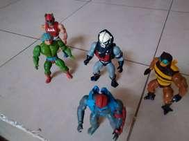 MOTU He-man, lote de figuras de accion