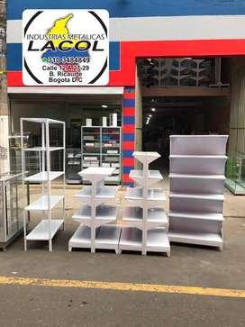 Gondolas desarmables y fijas para supermercados,fabrica,estanterias