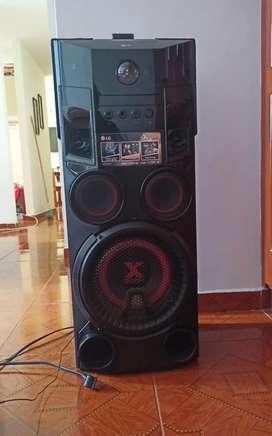 Equipo de sonido lg xboom cube + Antena para radio