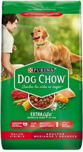 Dog Chow Adulto Raza Medianas y Grandes 8 kg