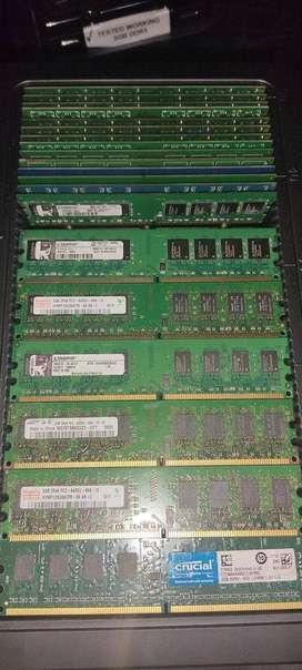 Memoria Ram ddr2 de 2gb PC