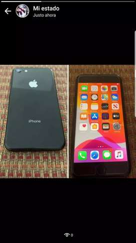 VENTA DE IPHONE 8NORMAL DE 256GB LIBRE DE TODO
