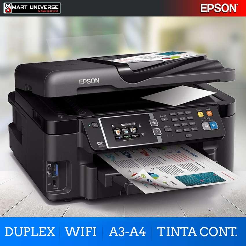 Impresora Multifuncional Epson L1455 Tinta Continua A3 Adf Duplex Wifi 0