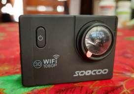 Cámara deportiva Soocoo c10s hd 1080p Pantalla Lcd Wifi. Estuche
