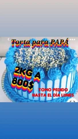 Tortas  para papá
