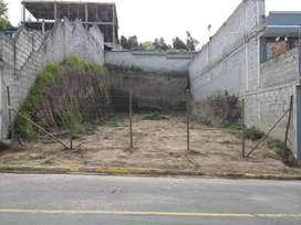 Terreno en venta puente 2 vía Valle de Los Chillos, Autopista Rumiñahui, Quito
