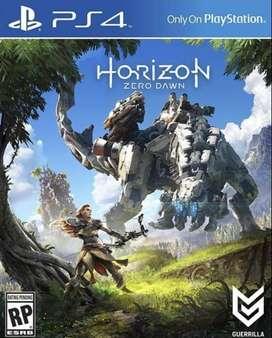 Horizon Zero Dawn Playstation 4 Ps4, Físico