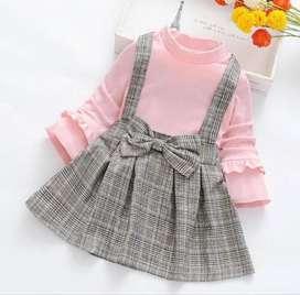 Vestido 2 Piezas Babygirl - Ropa Para Bebés