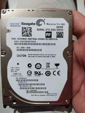 Disco para portatil de 250 gb