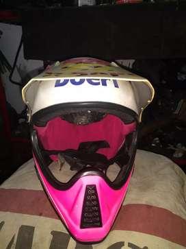 Casco boeri XL moto enduro
