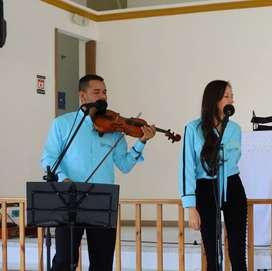 Coros para misas con violín en pereira