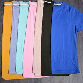 Camisas básicas para hombre sin marquilla