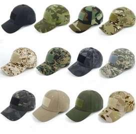 Gorras militares tacticas camufladas tela galleta