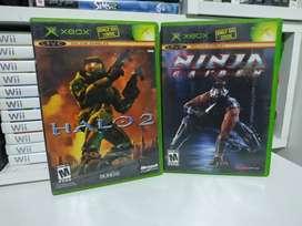 Son 2 juegos originales de Xbox clásico los 2 por 100 mil