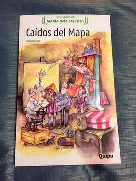 Libro Caídos del Mapa 1. Nuevo