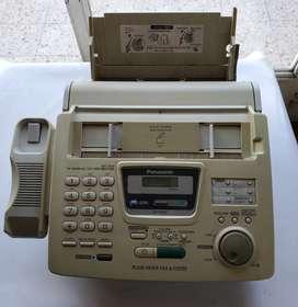 Fax Panasonic kx-fp250 funciona visor muy claro s telefono