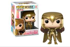 Dc Funko Pop Wonder Woman 1984 Golden Armor