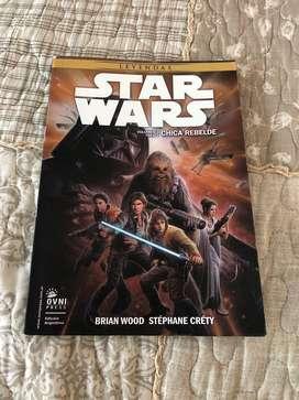 Libro star wars-chica rebelde volumen 3.
