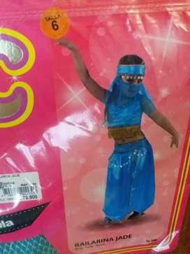Disfraz bailarina jade