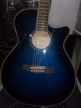 Guitarra Ibanez Electroacoustica Blue EQ Ibanez Estuche
