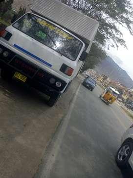 Ocacion se vende camionsito  furgon mitsubichi canter año 91 motor 4D31 con turbo, ubicado en Huánuco