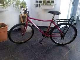 Bicicleta mujer r26 21 cambios