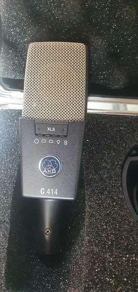 Micrófono akg c414