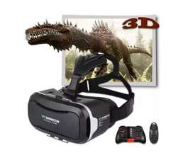 Espectaculares Gafas De Realidad Virtual Shinecon 3d