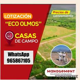 Proyecto Eco Olmos - lotes