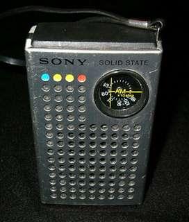 Radio Colección Sony Tipo Spica Retro Vi