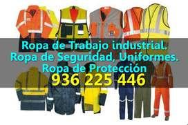 Overoles, Pantalones, Camisas, Chalecos Industriales para Trabajo de Seguridad Industrial. Fabricantes de Gamarra