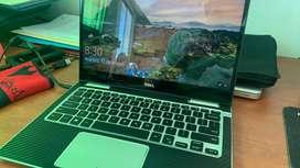 Laptop 2 en 1 dell touch core i5 8va gen 8gb RAM Y 256gb ssd