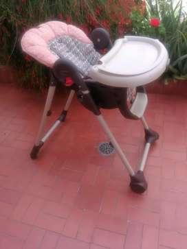 Silla con comedor para bebe- Duo diner