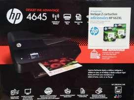 IMPRESORA HP: DESKJET INK ADVANTAGE NUMERO 4645 / IMPRESORA EN  PERFECTO ESTADO