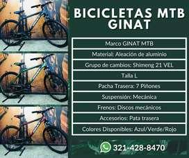 Bicicletas de mtb nuevas