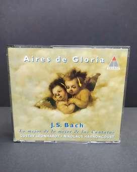 J. S. BACH: AIRES DE GLORIA 2 CD's