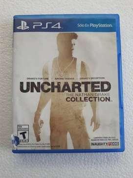 Juego PS4 Original (Usado) UNCHARTED The Nathan Drake Collection