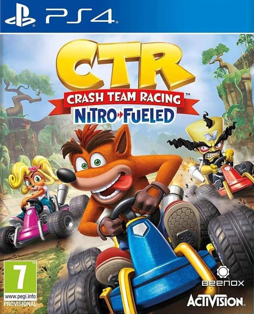 Crash CTR Playstation NO fisico