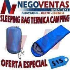 SLEEPING BAG TERMICA CAMPING