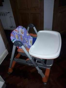 Silla de comer para bebe