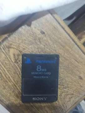 Targeta de memoria play 2 (8MB)
